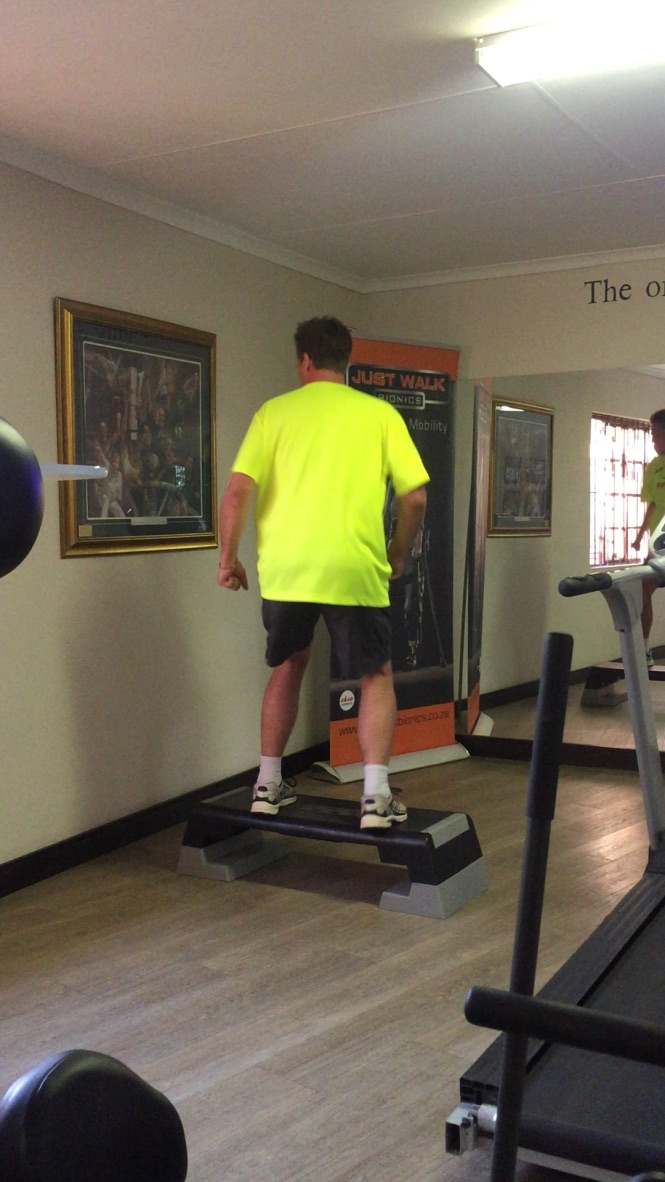 Training with Justin Jeffrey Biokinetics